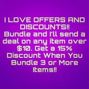 Other - Welcome! 💜Considering All Reasonable Offers!